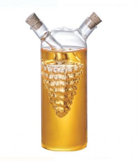 Recipient din sticla pentru ulei si otet
