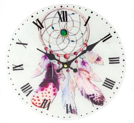 ceas de perete sticla