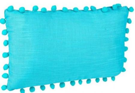 perna decorativa turcoaz