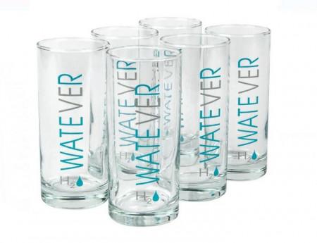 Set de pahare apa WATEVER - 6 buc