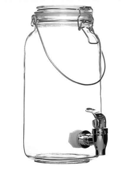 Borcan cu robinet si maner - 2L