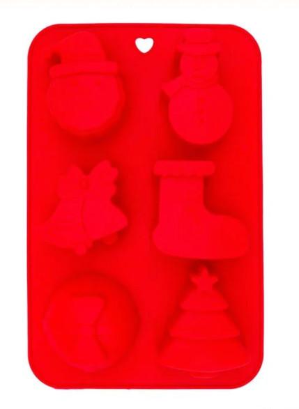 set 6 forme prajituri silicon