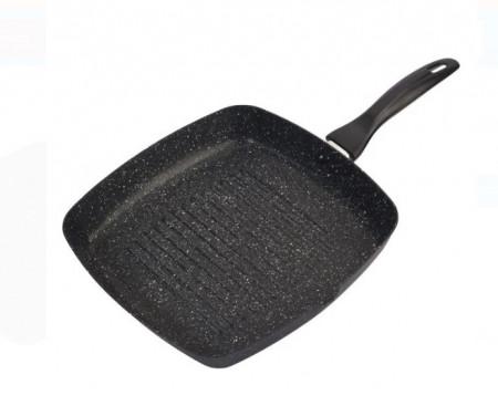 Tigaie pentru gratar, 28x28x4,5 cm