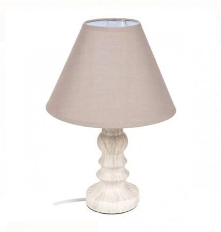 lampa de masa bej