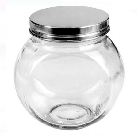 Borcan din sticlă cu capac 680 ml