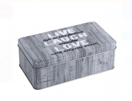 cutie de depozitare gri