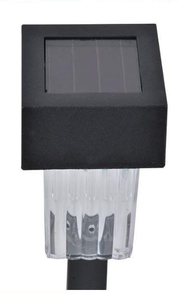 Lampa solară cu baterie reîncărcabilă