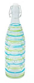 Sticla cu design colorat 1l