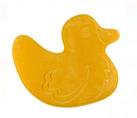 Covoras de baie pentru copii - ratusca galbena - 60x50 cm
