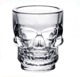 Pahar de shot cu design craniu 50 ml