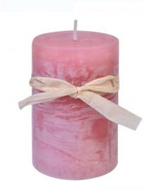 Coloana Lumânare parfumata - Orhidee roz 5x7,5 cm