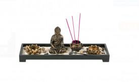 Set de bete din lemn aromatic - Buddha Sticks 38x11x3,5 cm