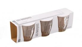 Set pahare scurte din sticla