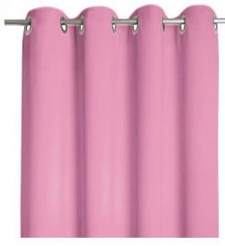 Draperie roz prafuit 140x250 cm