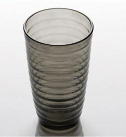 Set pahare de sticla gri 3 buc