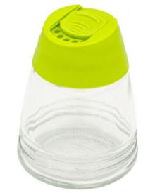 Borcan din sticlă colorată pentru mirodenii 200 ml