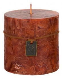 Lumanare tip coloana, aroma de Chihlimbar 10x10 cm