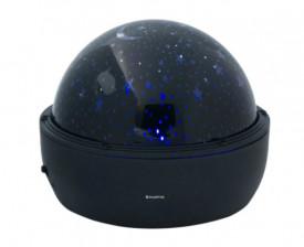 Proiector LED pentru camera cu stelute care se rotesc