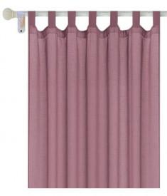 Perdea de tifon, roz - 140x250cm
