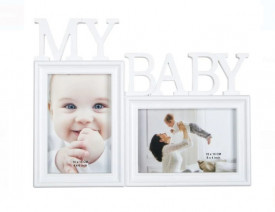 Rama foto 3D - 2 pozitii - My baby - 10x15 cm