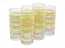 Set de pahare apa cu model