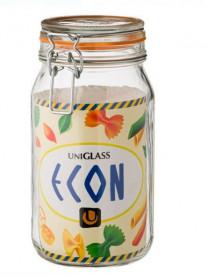 Borcan de sticlă cu capac de siguranță 1,5 lt