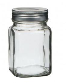Borcan din sticlă cu capac pe filet 200 ml