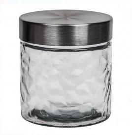 Borcan din sticlă cu capac metalic 800 ml