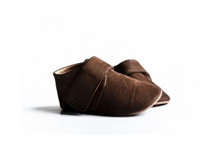 Slika Nehodajuće kožne cipelice za bebu / smeđe