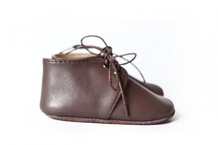 Slika Kožne cipelice za bebu / smeđe