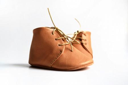 Duboke cipele za bebu / oker