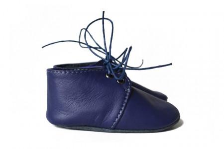 Slika Nehodajuće kožne cipele za bebu / tamno plave