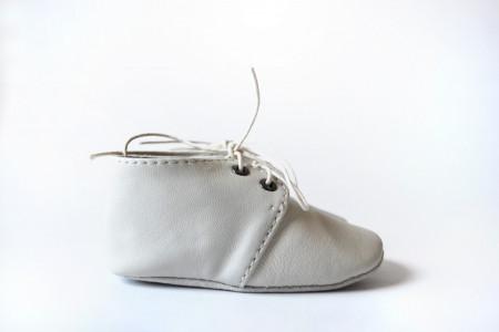 Slika Nehodajuće kožne cipele za bebe / bež
