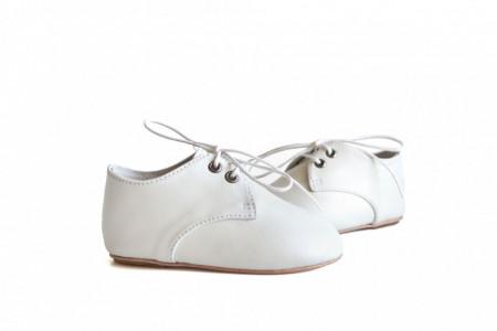 Kožne bele dečije cipele CIHKK001BEL