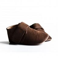 Nehodajuće kožne cipelice za bebu / smeđe