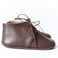 Kožne cipelice za bebu / smeđe