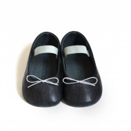 Baletanke za bebu / tamno teget-sive