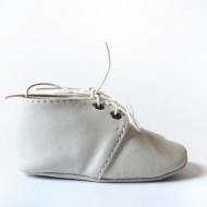 Nehodajuće kožne cipele za bebe / bež