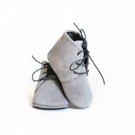 Duboke cipele od prevrnute kože za bebu CDNKK002SIV
