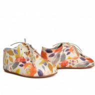 Kožne dečije cipele / cvetne