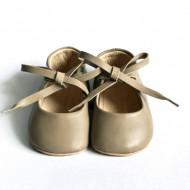 Baletanke za bebu / bež-sive