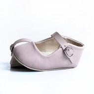 Kožne sandale za bebu /roze