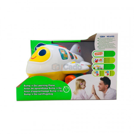 Avion interactiv cu lumini și sunete Hola 6103 poza 5