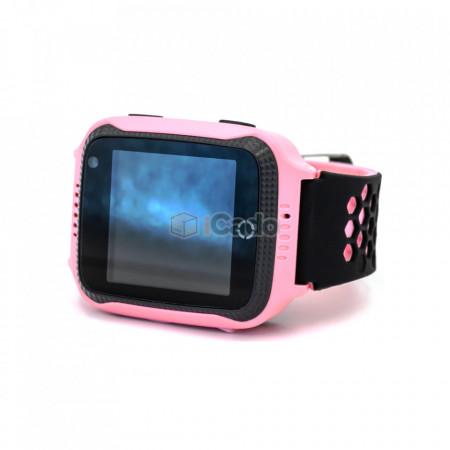 Ceas pentru copii ModelQ528 G900Acu Camera de 0.3MP roz poza 2