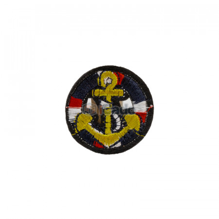 Emblema brodata ancora 3.5x3.5cm