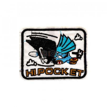 Emblema brodata HIPOCKET 9.5x7.5cm