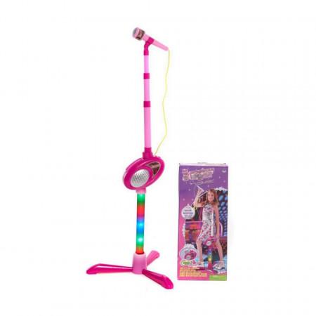 Microfon karaoke model 6363 pentru fetițe de 3 ani+ poza 1