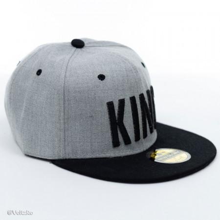 Șapcă logo King gri poza 1