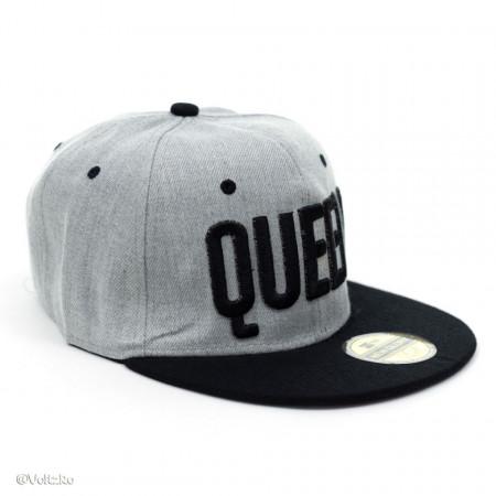 Șapcă logo Queen gri poza 1