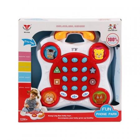 Telefon muzical Fun Phone Park, model SY69 poza 2